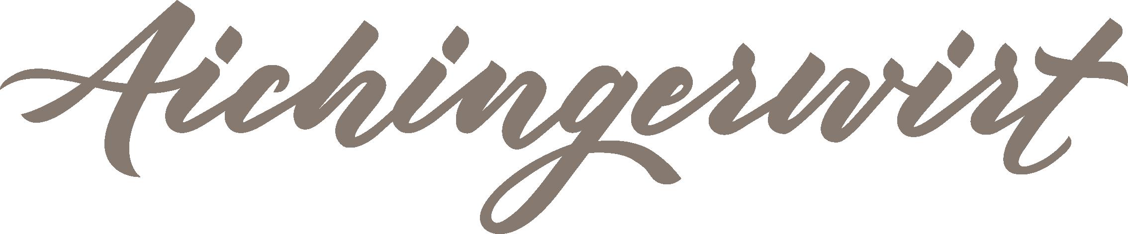 Aichingerwirt Logo 2020 Farbe  2268x471